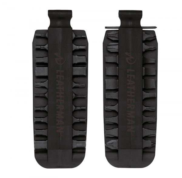 Leatherman Bit Kit accessories in sheath