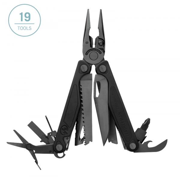 Leatherman Charge Plus multi-purpose tool with 19 tools - black